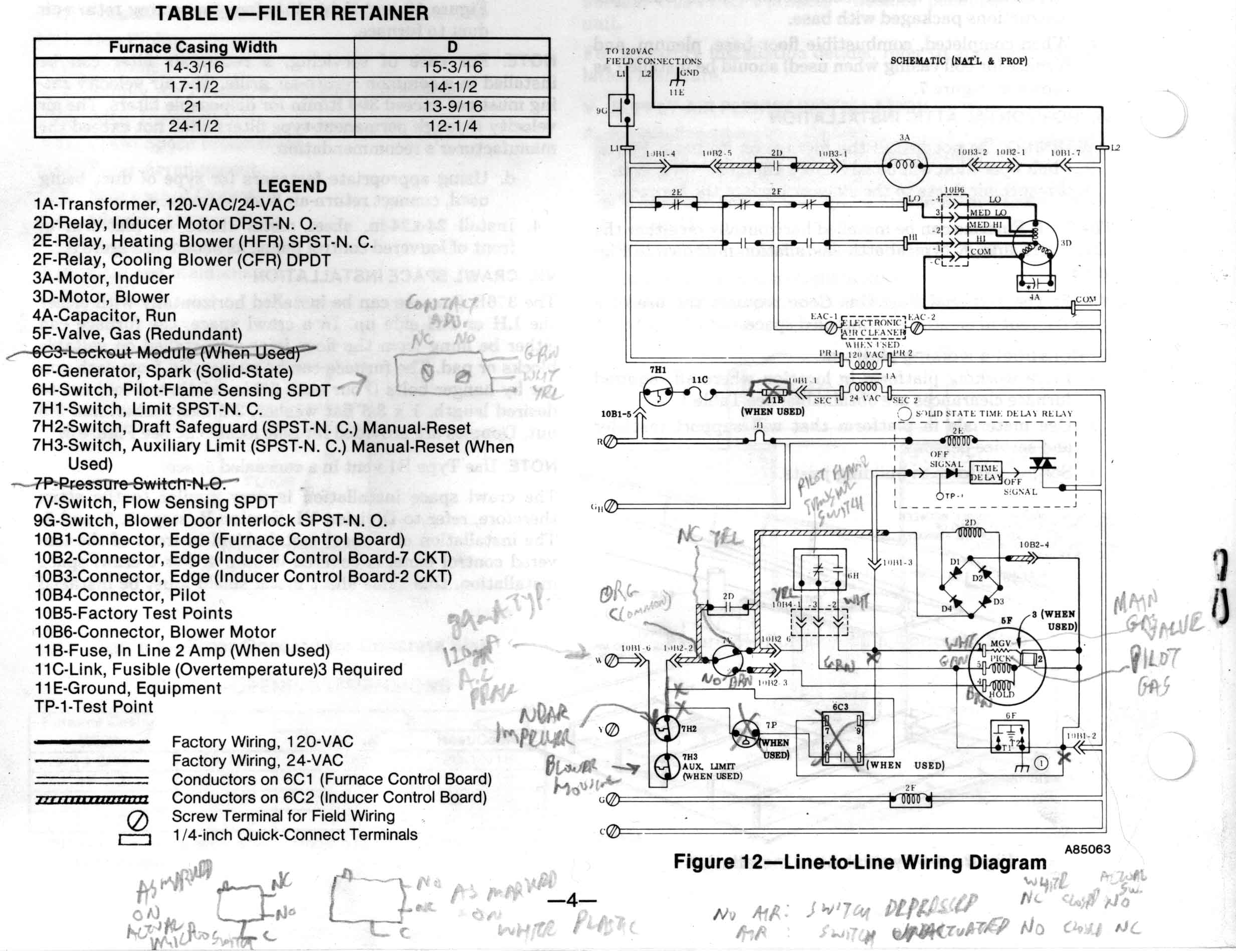 Forced Air Furnace Electric Troubleshooting Eb15d Coleman Evcon Wiring Diagram Images